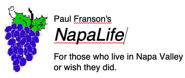 Paul Franson's Napa Life